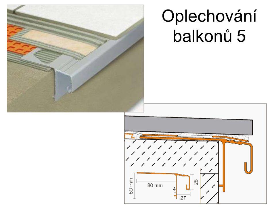 Oplechování balkonů 5