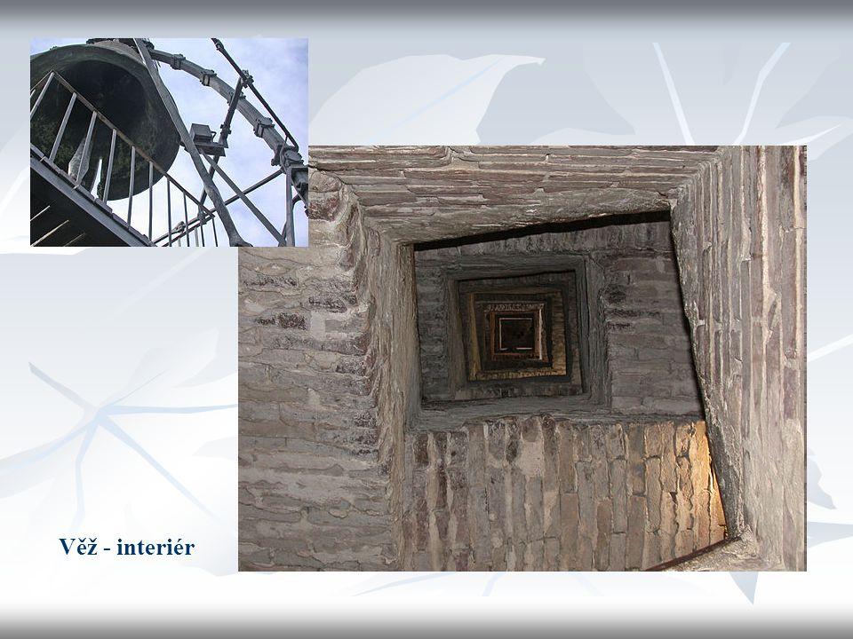 Věž - interiér