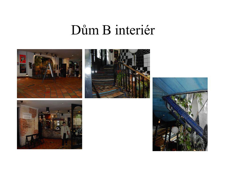 Dům B interiér