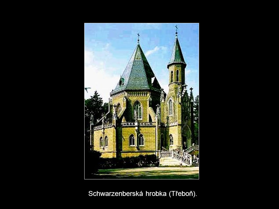 Schwarzenberská hrobka (Třeboň).