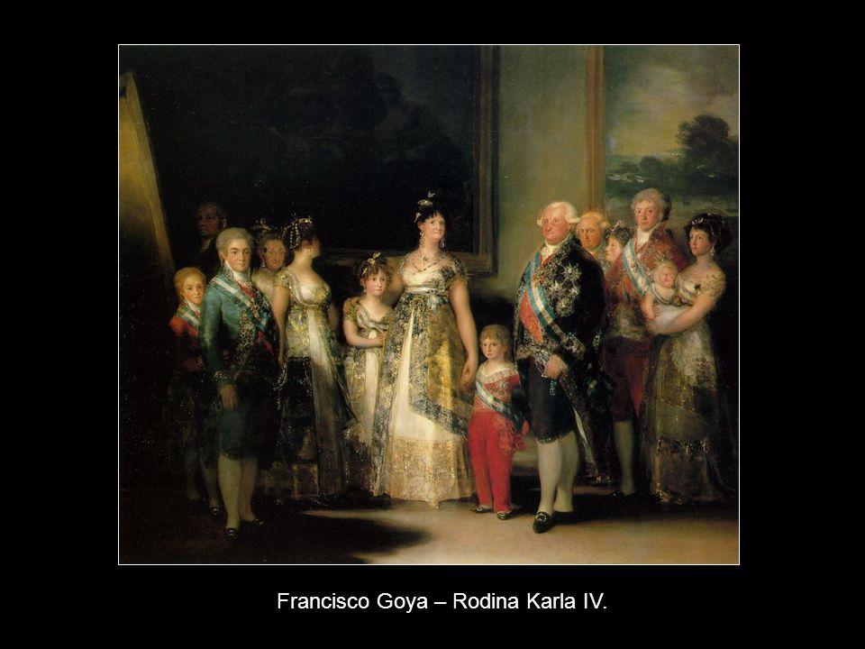 Francisco Goya – Rodina Karla IV.