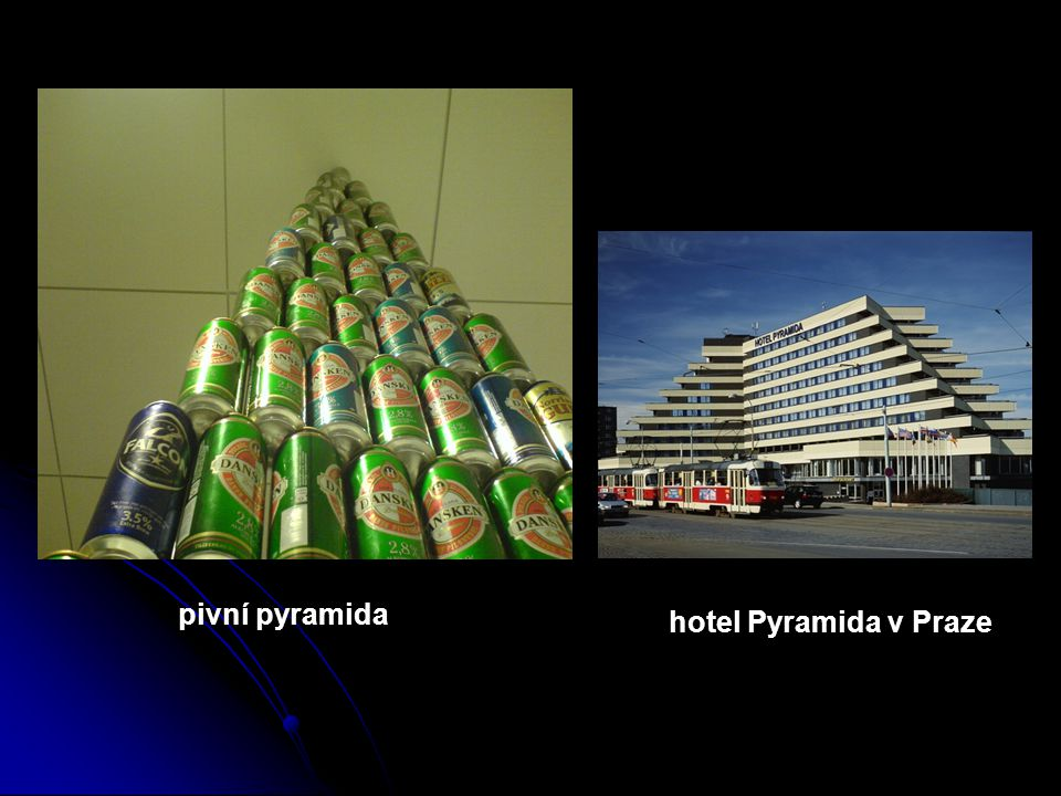 pivní pyramida hotel Pyramida v Praze