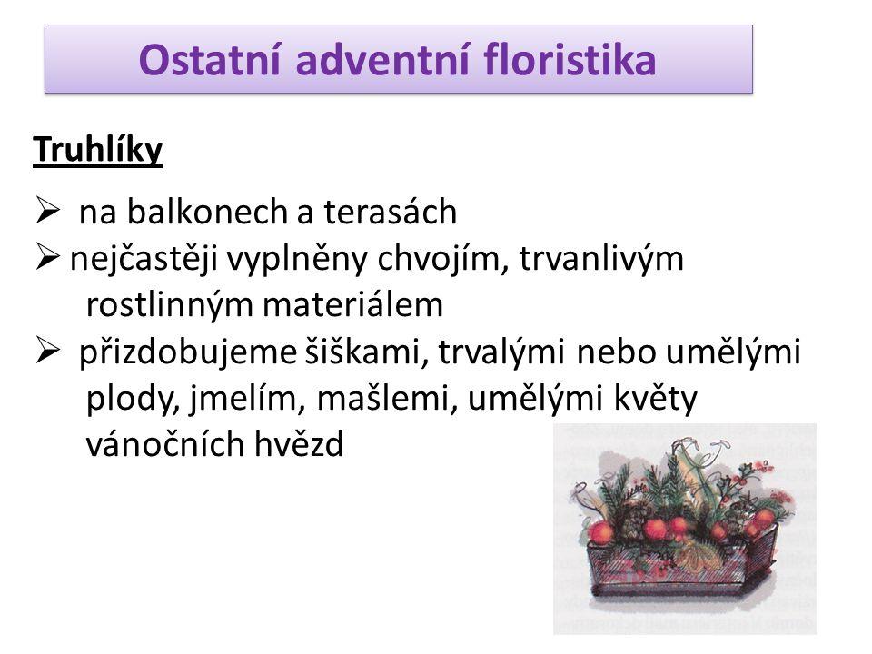 Ostatní adventní floristika