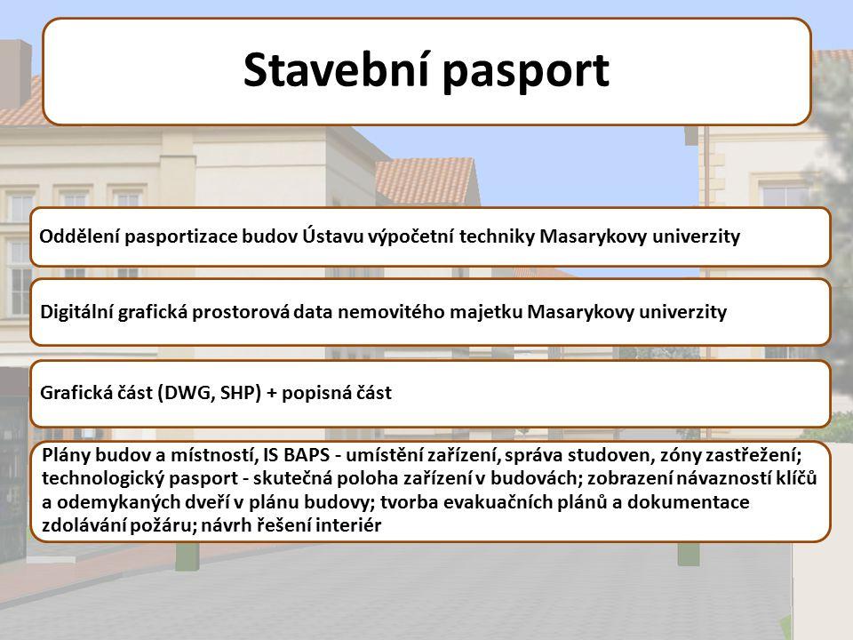 Stavební pasport Oddělení pasportizace budov Ústavu výpočetní techniky Masarykovy univerzity.