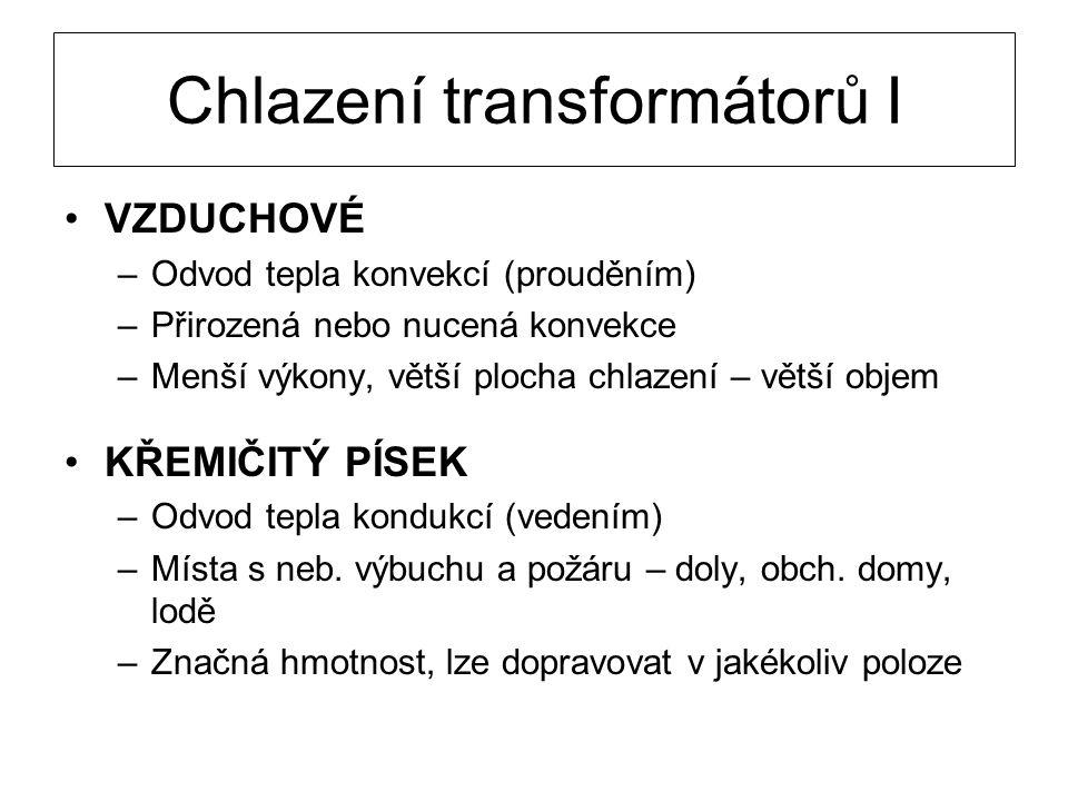 Chlazení transformátorů I