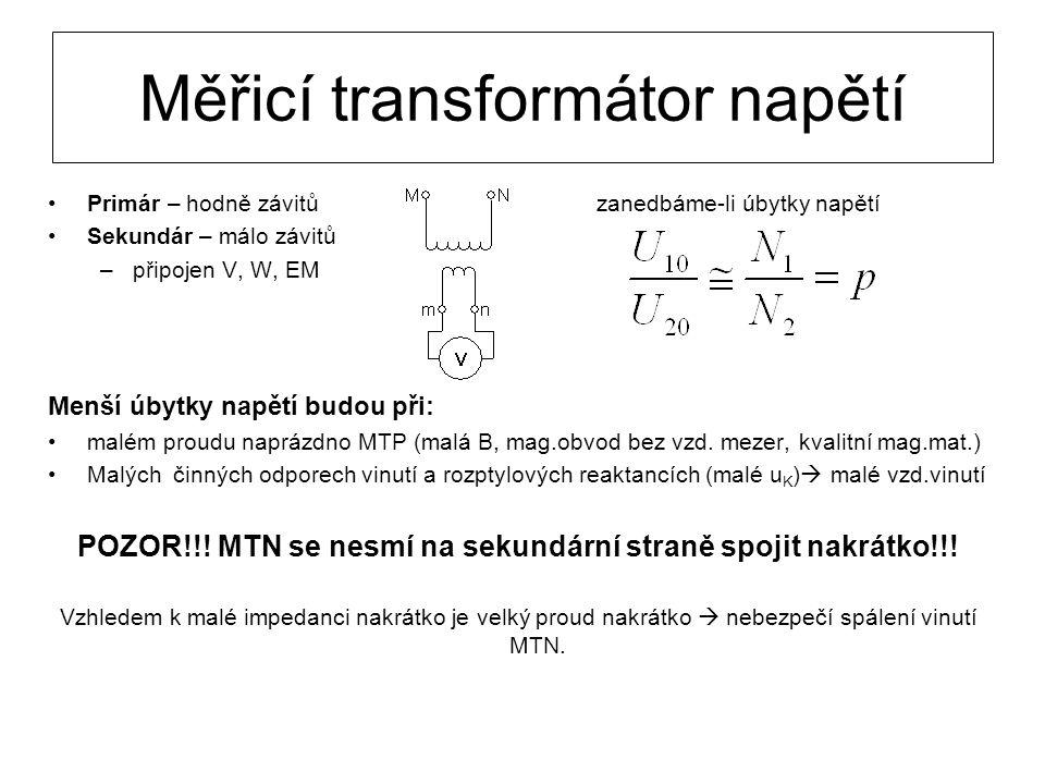 Měřicí transformátor napětí