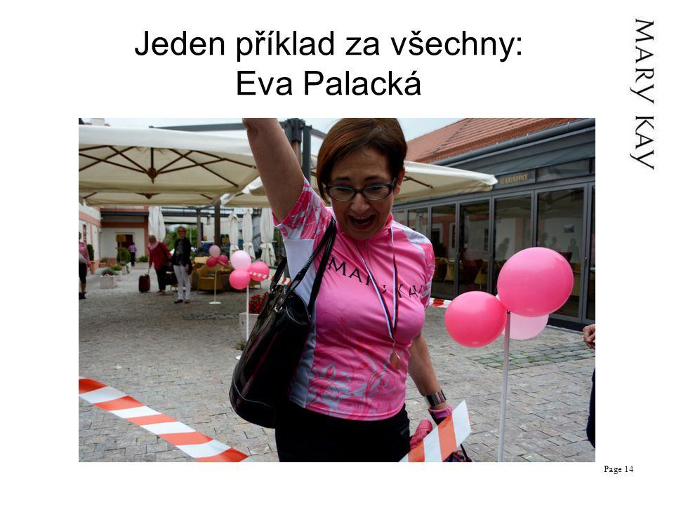 Jeden příklad za všechny: Eva Palacká