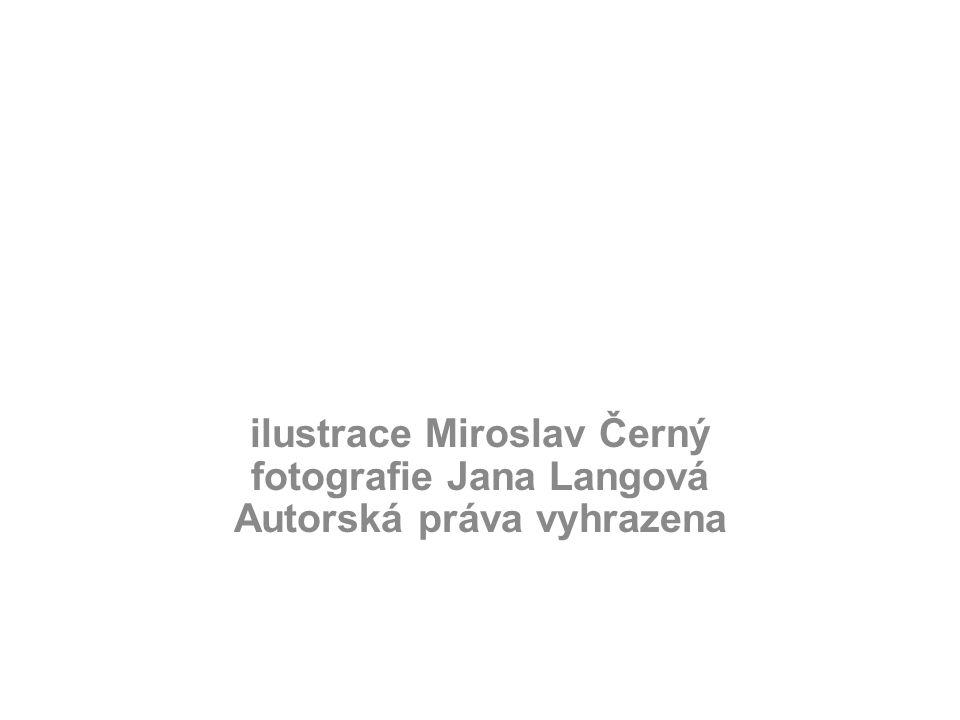 ilustrace Miroslav Černý fotografie Jana Langová Autorská práva vyhrazena
