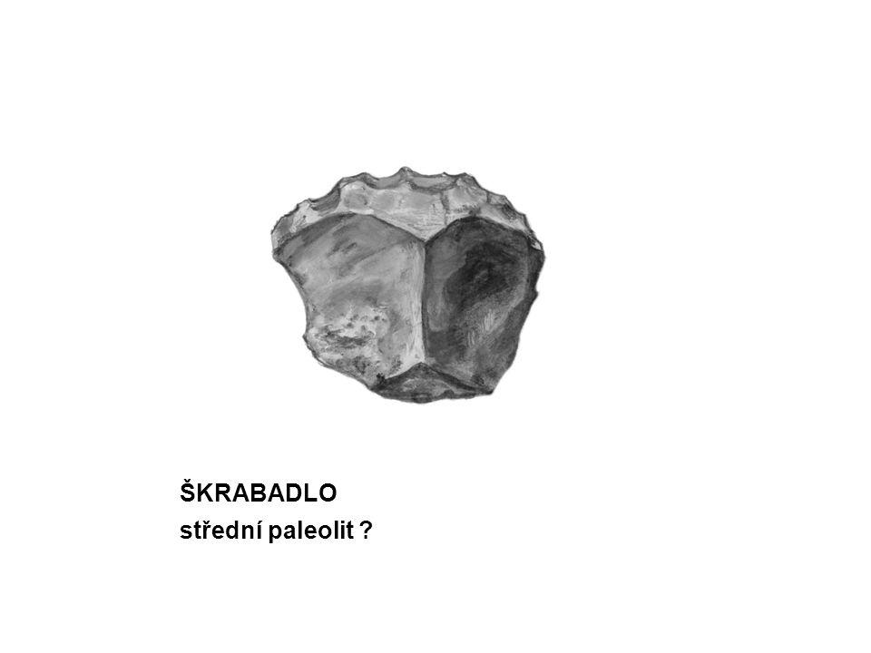 ŠKRABADLO střední paleolit