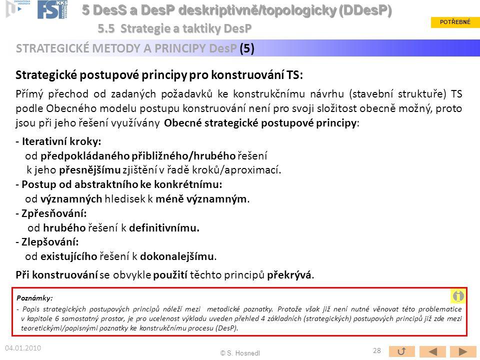 i 5 DesS a DesP deskriptivně/topologicky (DDesP)