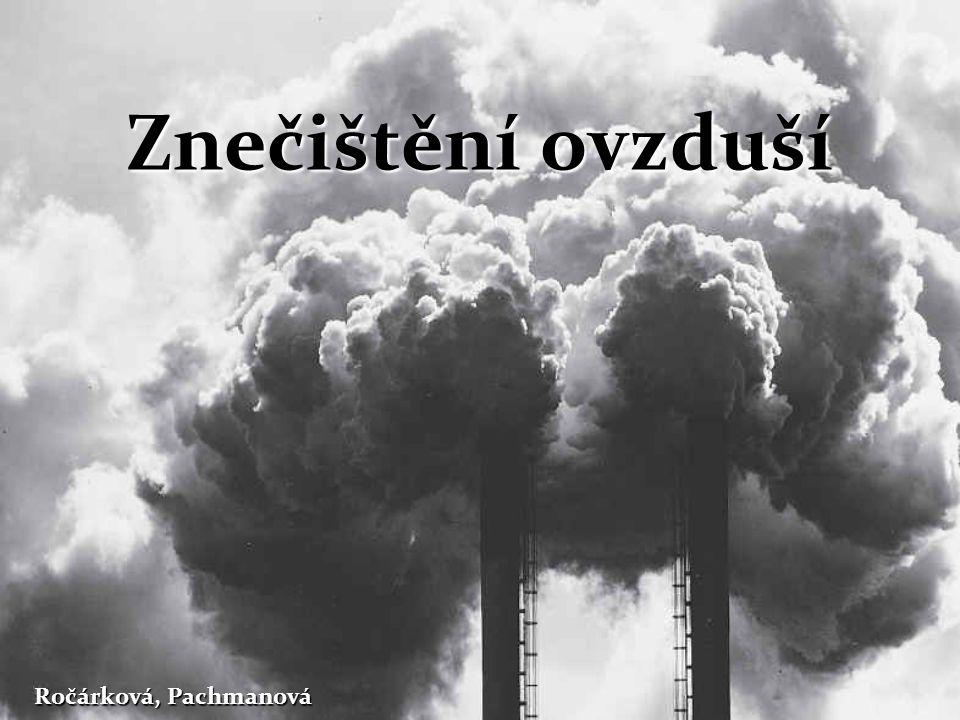 Znečištění ovzduší Ročárková, Pachmanová