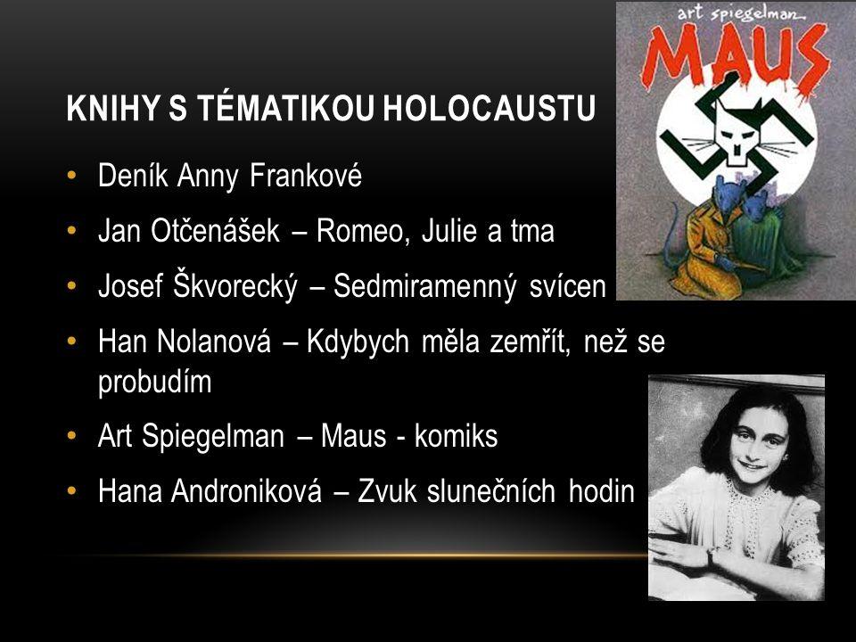 Knihy s tématikou holocaustu