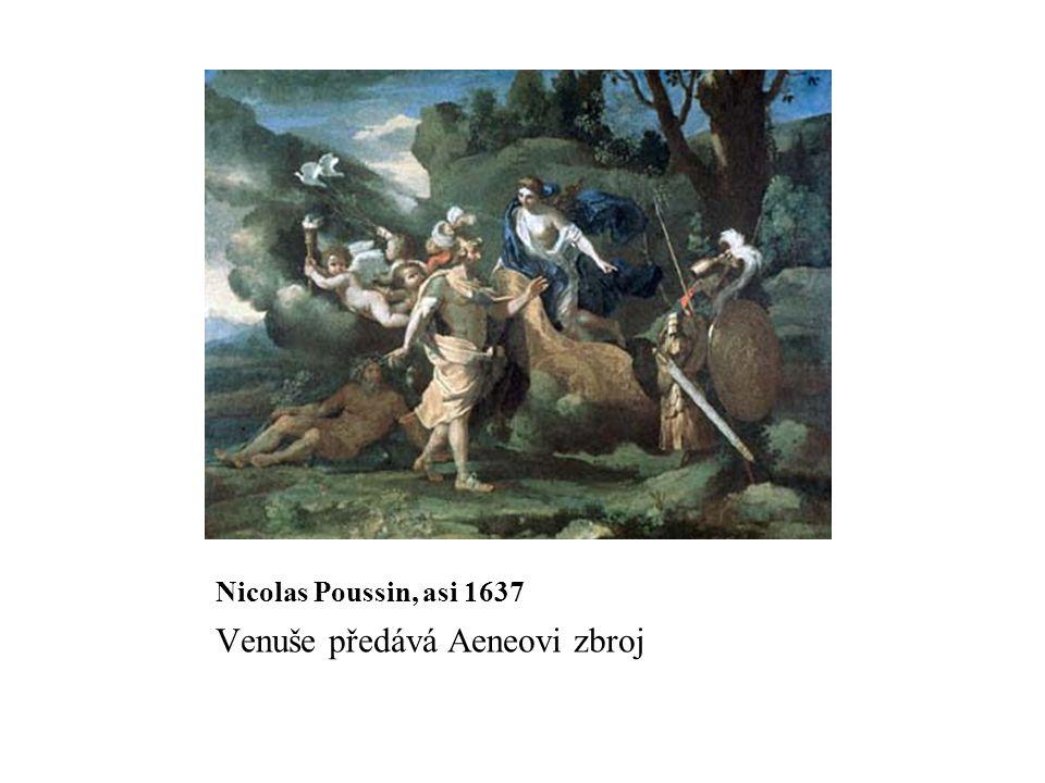 Venuše předává Aeneovi zbroj