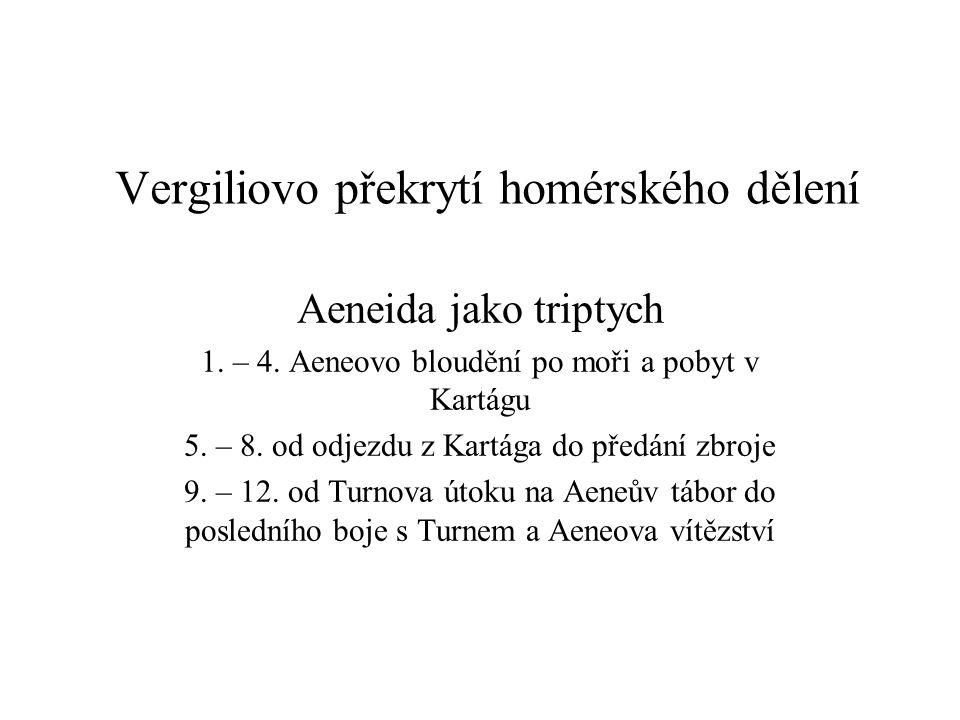 Vergiliovo překrytí homérského dělení