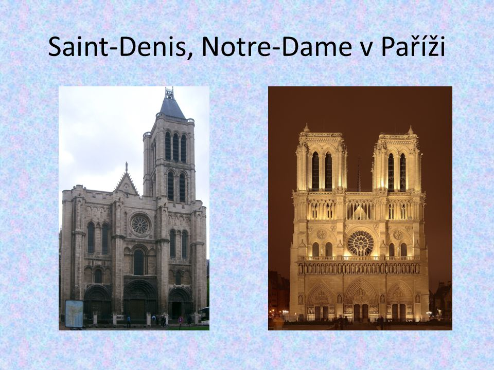 Saint-Denis, Notre-Dame v Paříži