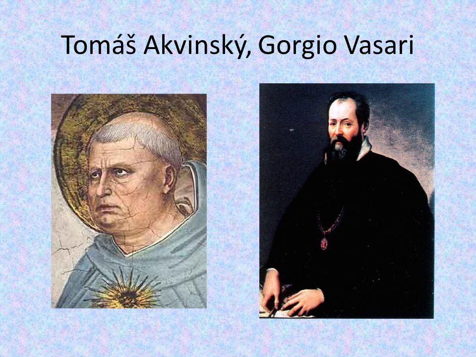 Tomáš Akvinský, Gorgio Vasari