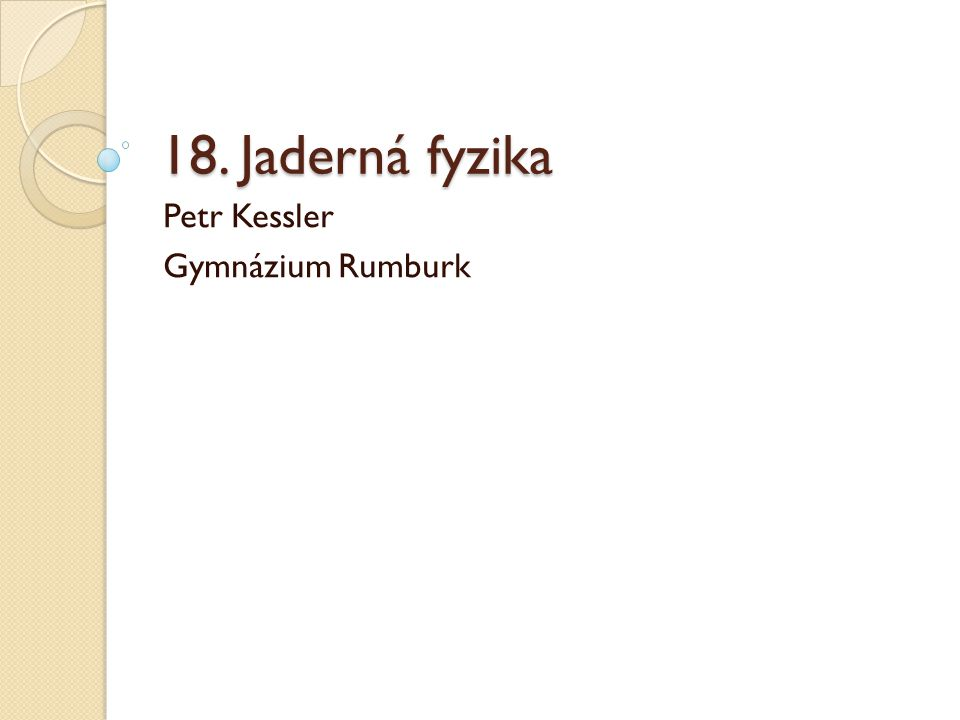 Petr Kessler Gymnázium Rumburk