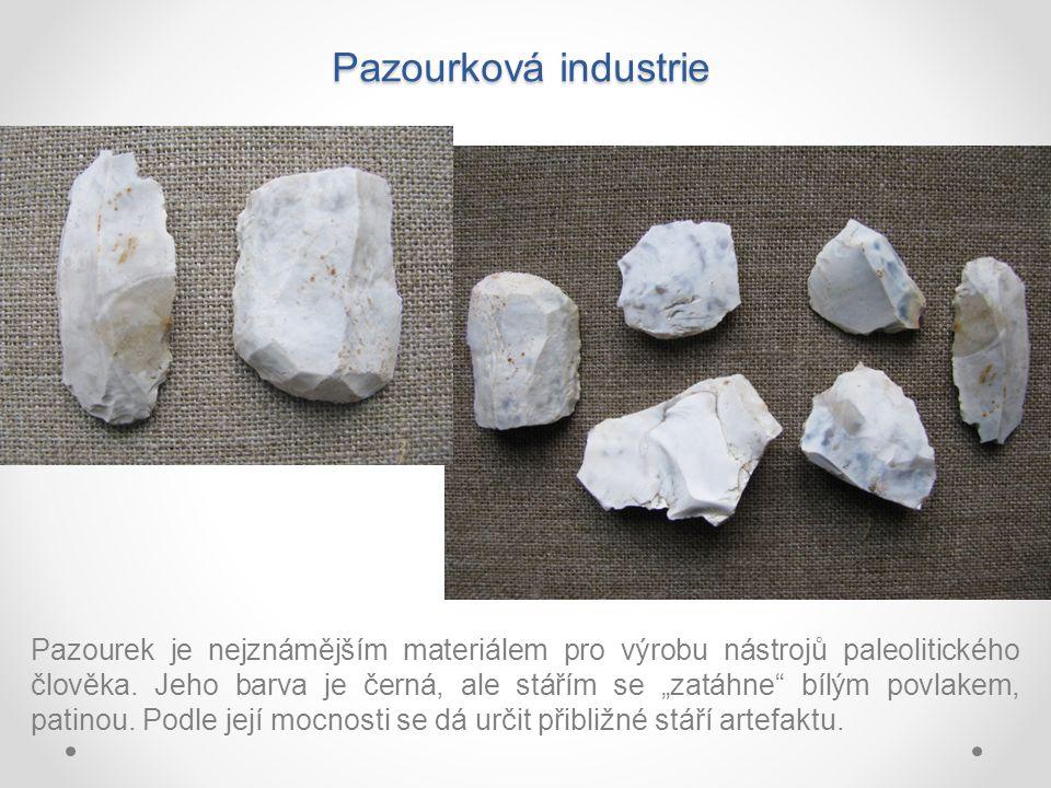 Pazourková industrie