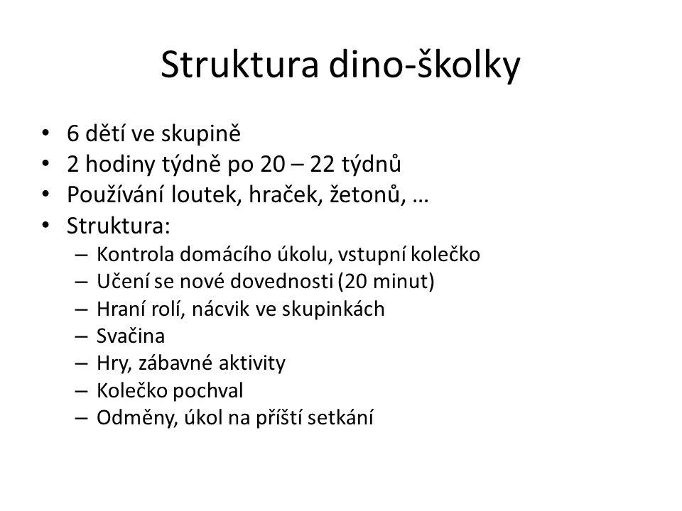 Struktura dino-školky