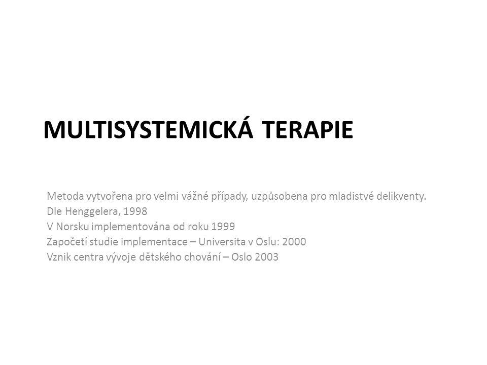Multisystemická terapie