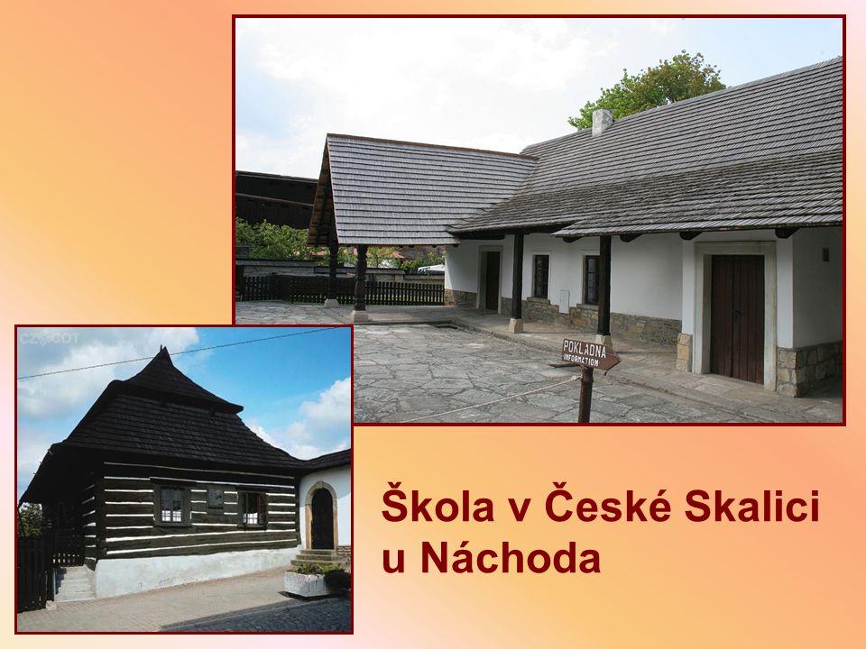 Škola v České Skalici u Náchoda