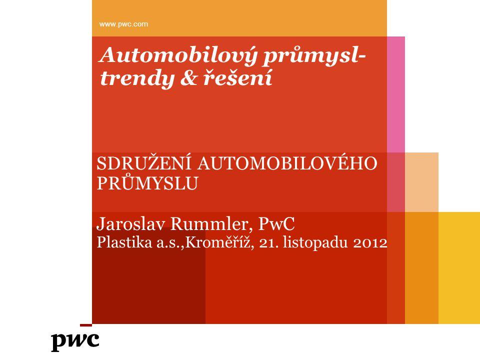 Automobilový průmysl- trendy & řešení