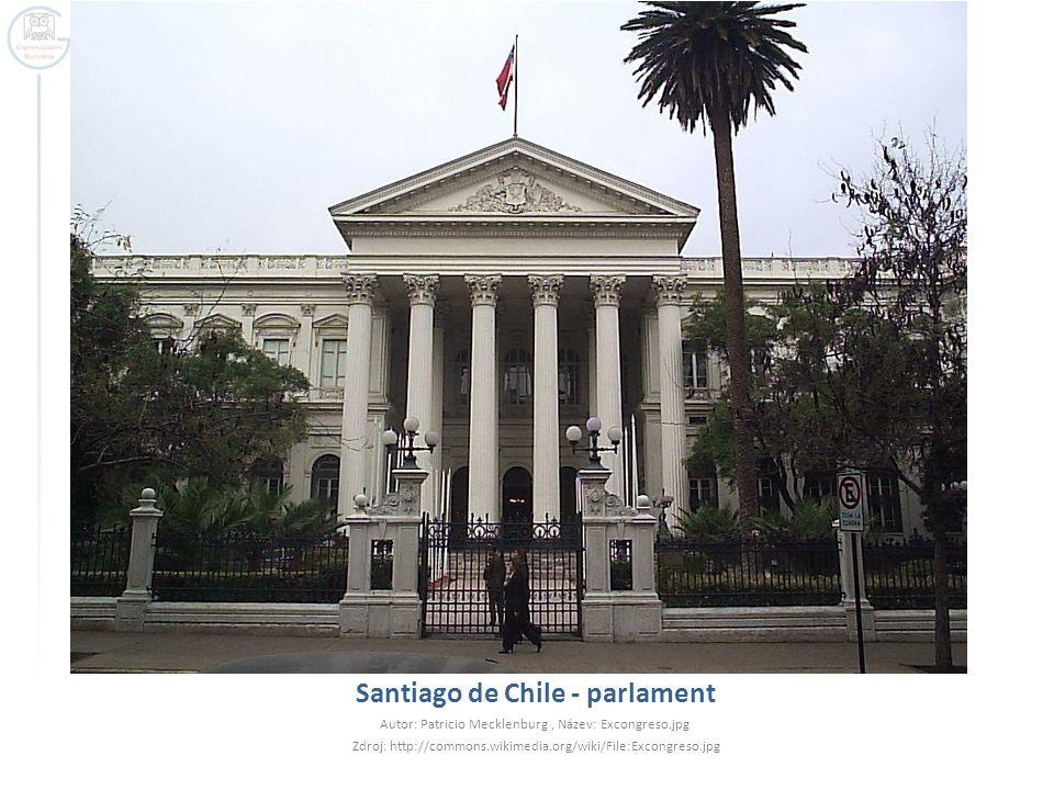 Santiago de Chile - parlament