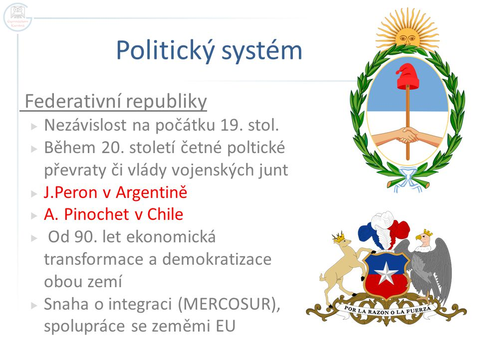 Politický systém Federativní republiky