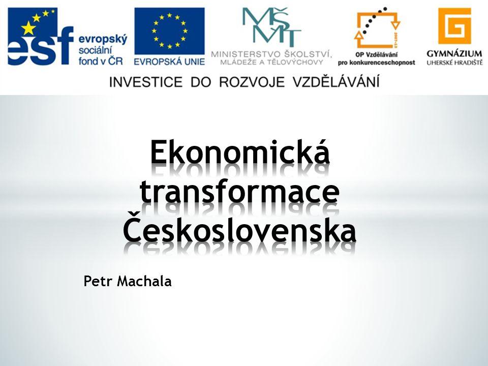 Ekonomická transformace Československa