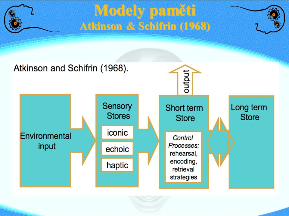 Modely paměti Atkinson & Schifrin (1968)