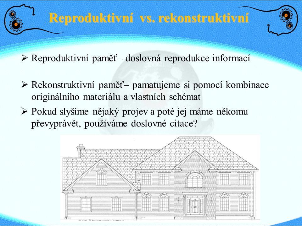 Reproduktivní vs. rekonstruktivní