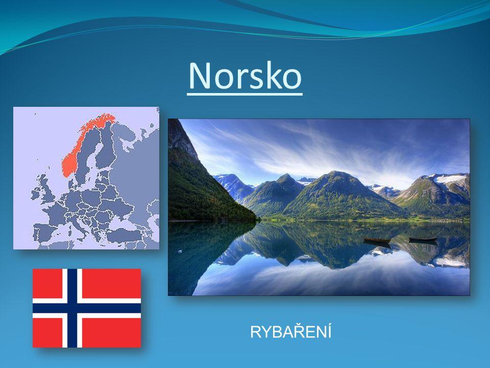 Norsko RYBAŘENÍ
