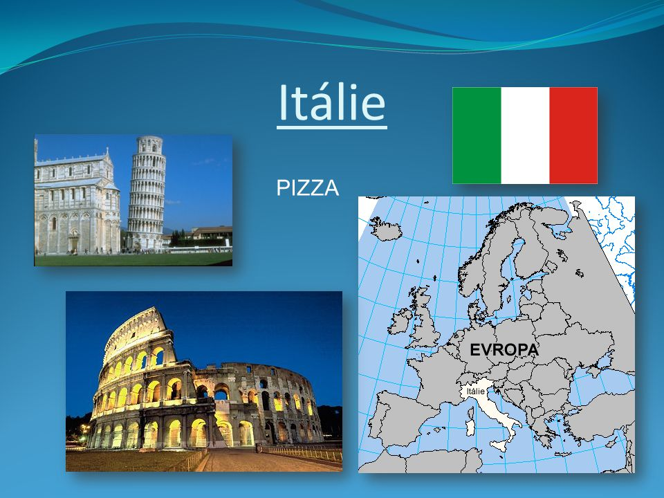 Itálie PIZZA
