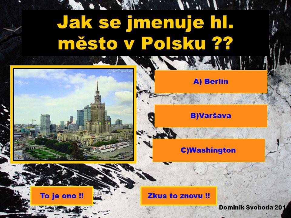 Jak se jmenuje hl. město v Polsku