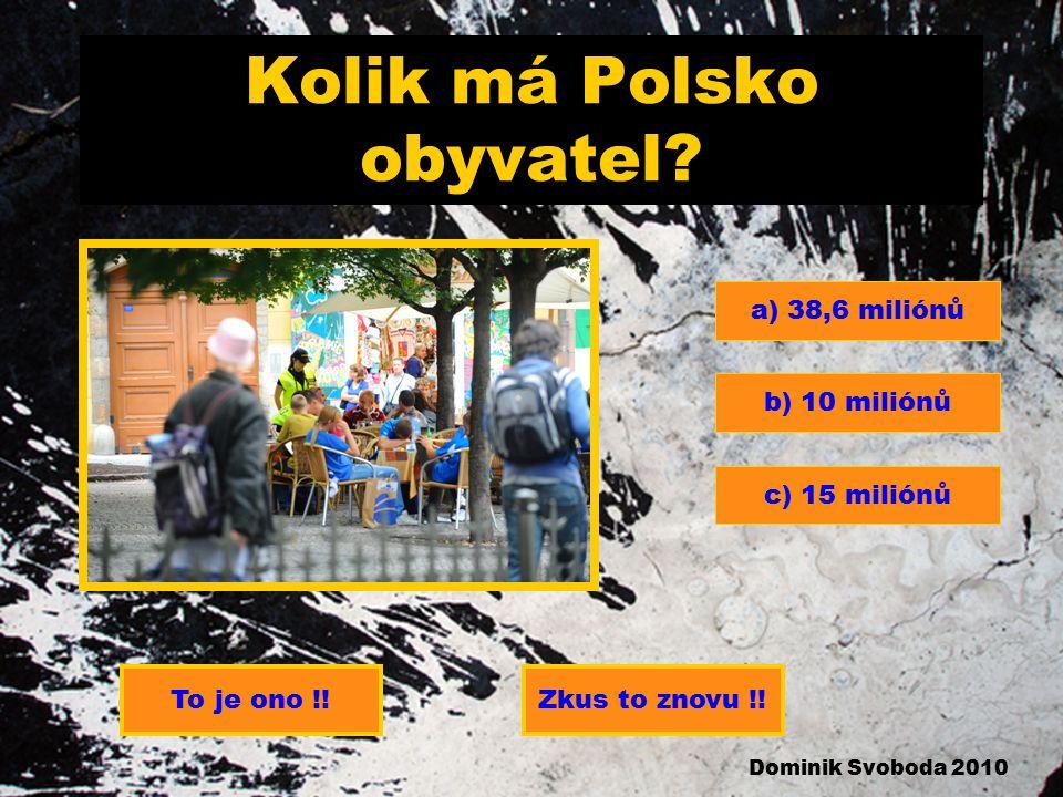 Kolik má Polsko obyvatel