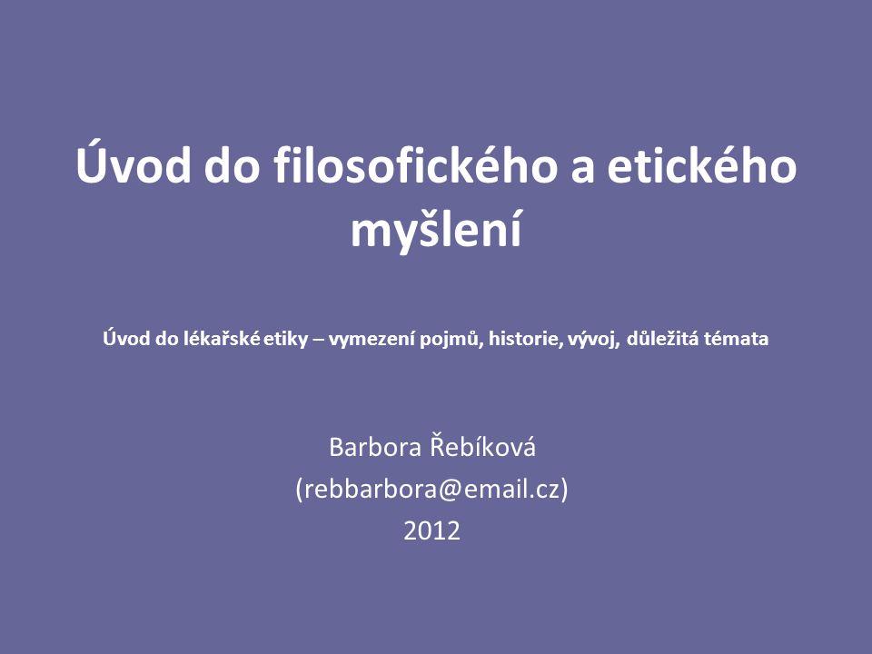 Barbora Řebíková (rebbarbora@email.cz) 2012