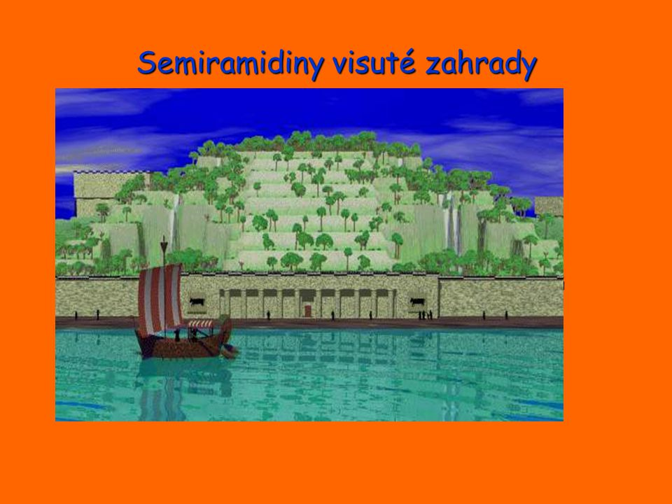 Semiramidiny visuté zahrady
