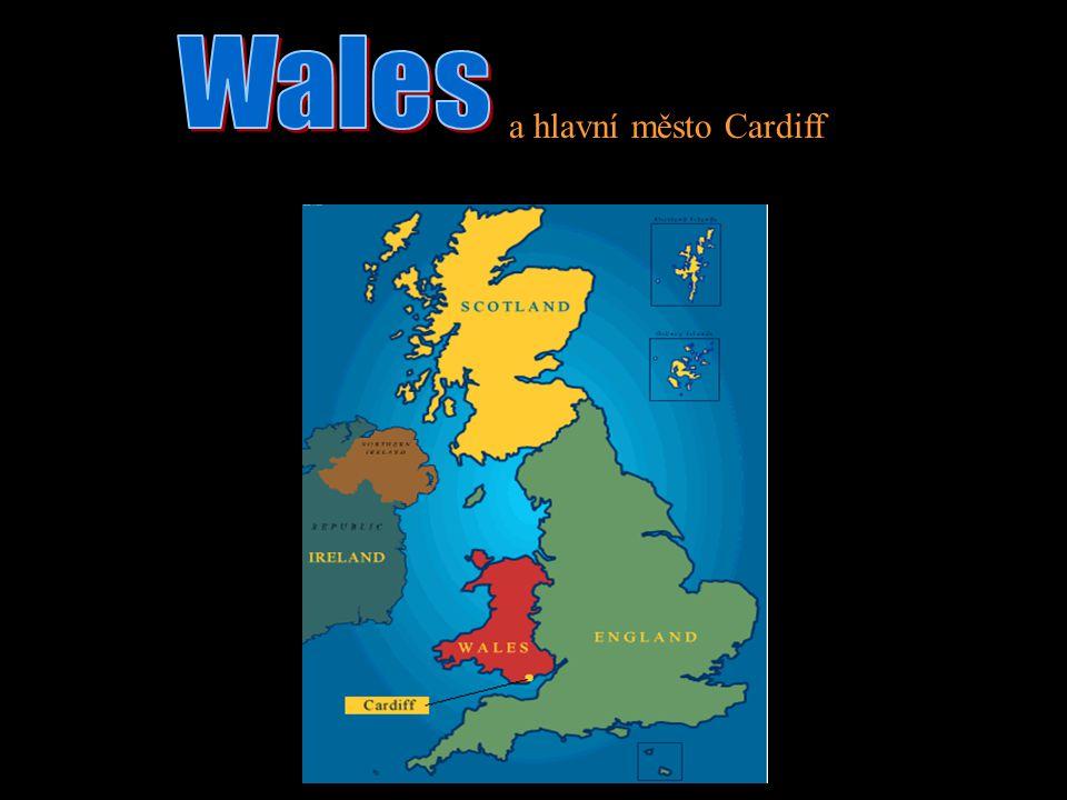 Wales a hlavní město Cardiff