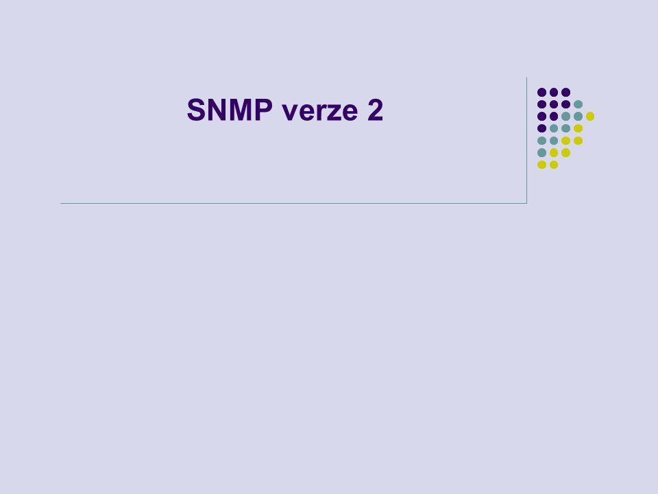 SNMP verze 2