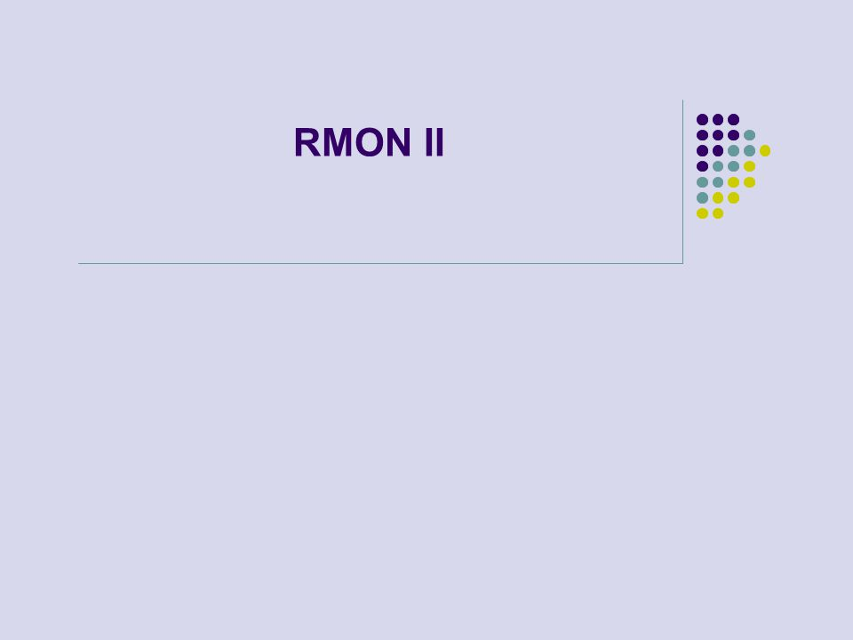 RMON II