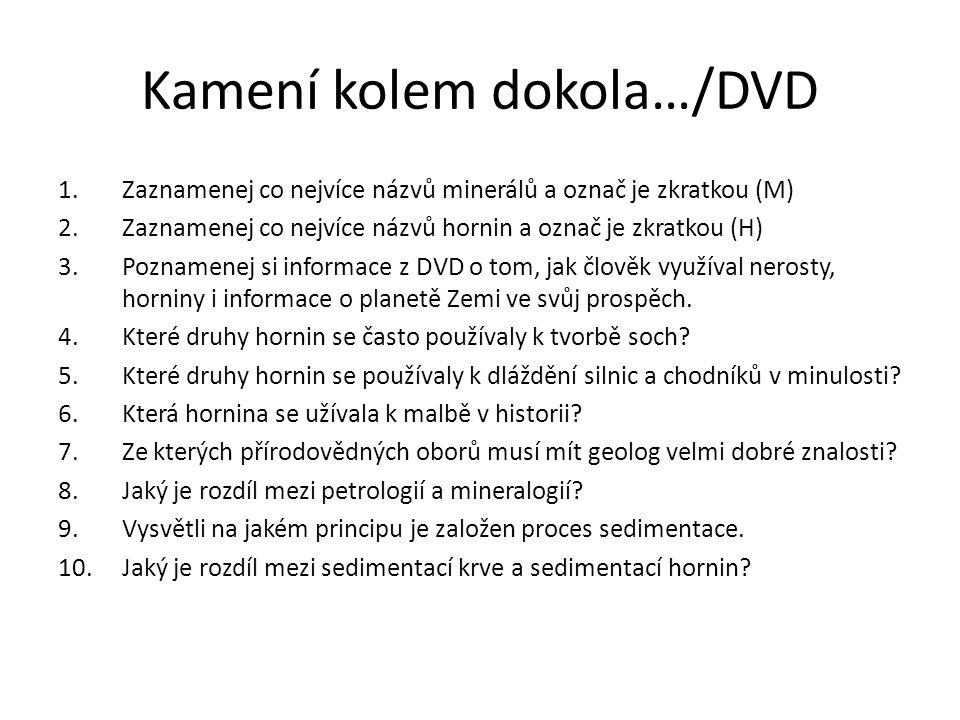 Kamení kolem dokola…/DVD