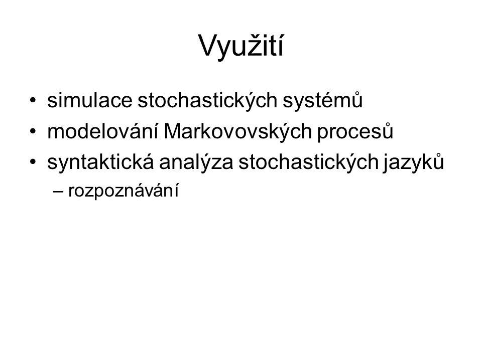 Využití simulace stochastických systémů
