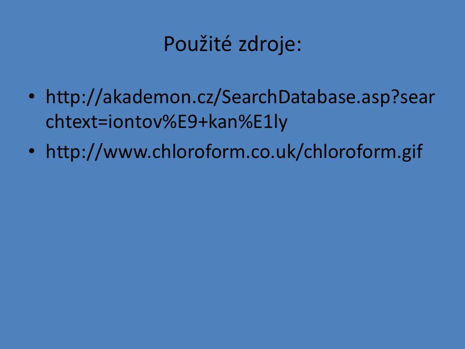Použité zdroje: http://akademon.cz/SearchDatabase.asp searchtext=iontov%E9+kan%E1ly.