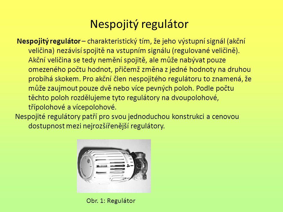 Nespojitý regulátor