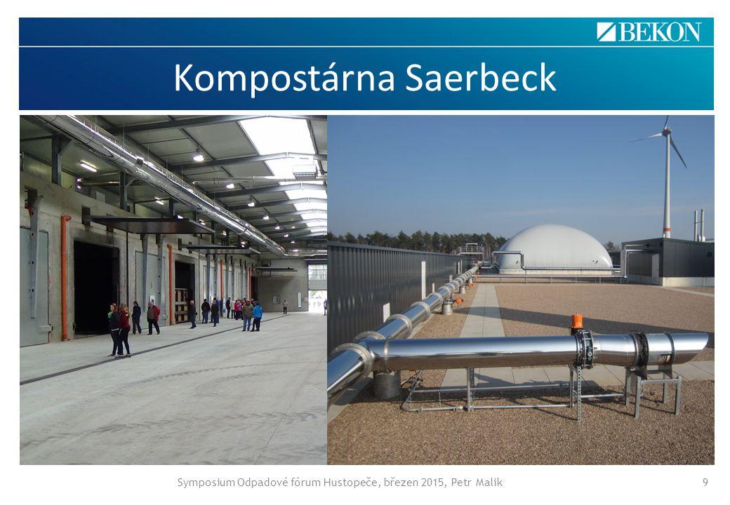 Symposium Odpadové fórum Hustopeče, březen 2015, Petr Malik