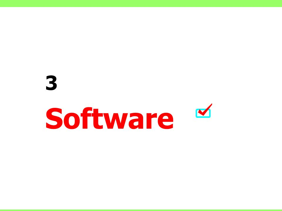 3 Software