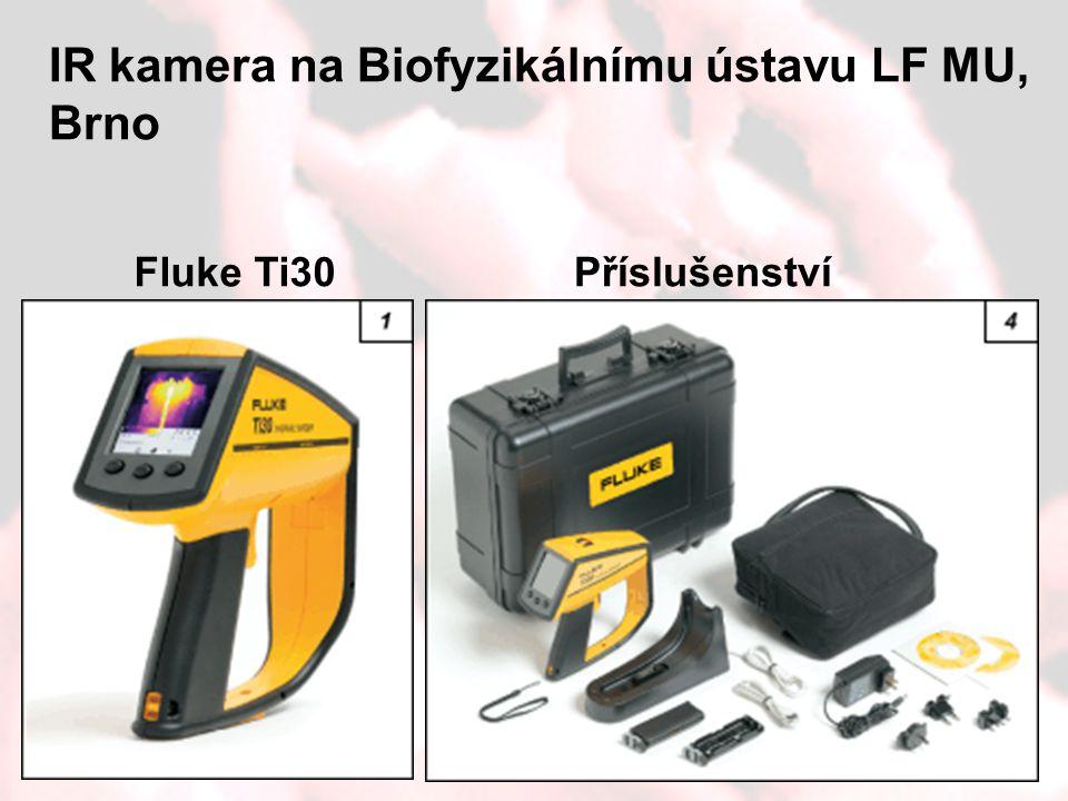 IR kamera na Biofyzikálnímu ústavu LF MU, Brno
