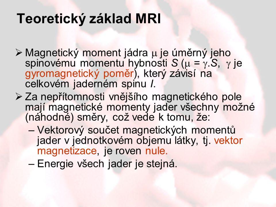 Teoretický základ MRI