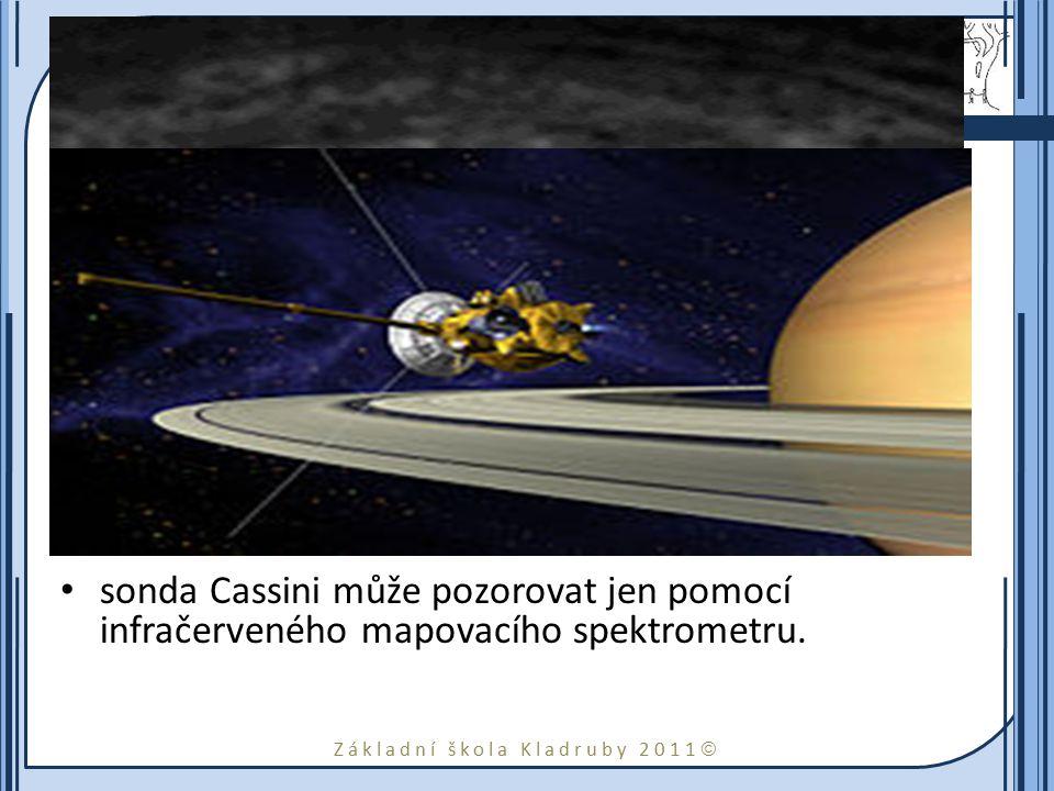 Atmosféra Atmosféra Saturnu se skládá téměř výhradně z vodíku a hélia.
