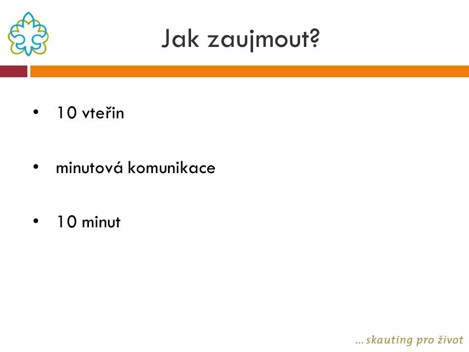 Jak zaujmout 10 vteřin minutová komunikace 10 minut